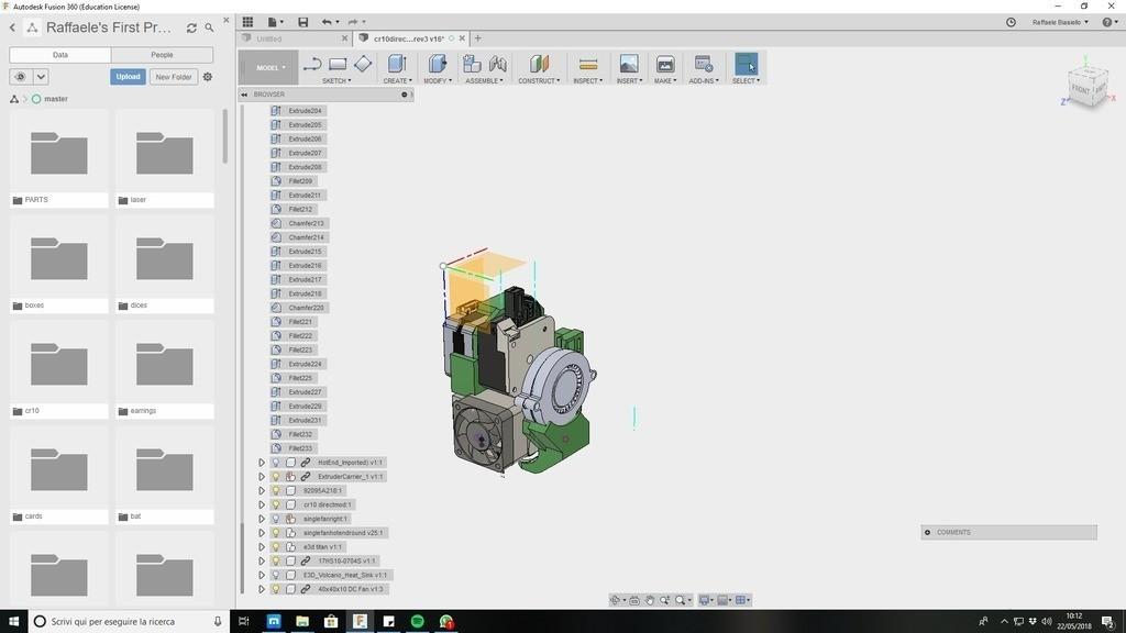 88360cd92a93f2cda98c0b0aef7edfbe_display_large.jpg Download free STL file CR10 direct heavy duty mod, titan + v5heatsink+volcano/ or / v6heatsink + pancake motor BETA • 3D print object, raffosan