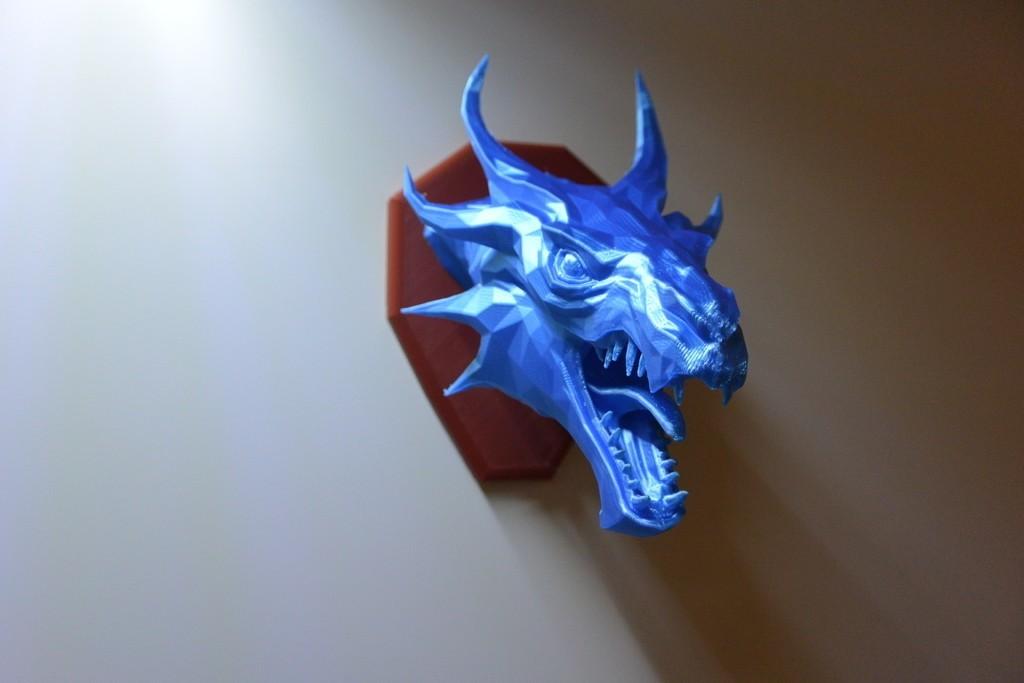 6b729b6a0623bf5fcb87f254d448e422_display_large.JPG Download free STL file Skyrim Swamp Dragon wall Trophy • 3D printable design, raffosan