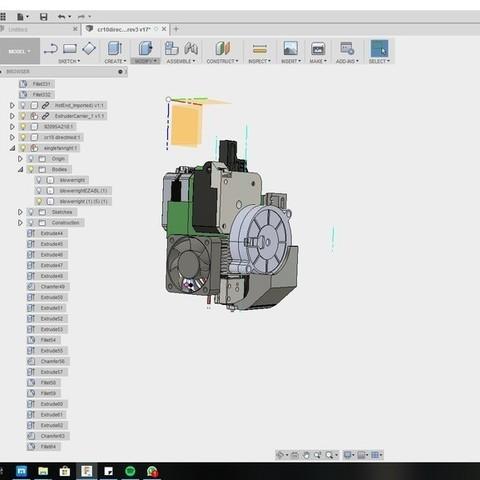 e72c60205967f5955272104e21ad0f8a_display_large.jpg Download free STL file CR10 direct heavy duty mod, titan + v5heatsink+volcano/ or / v6heatsink + pancake motor BETA • 3D print object, raffosan