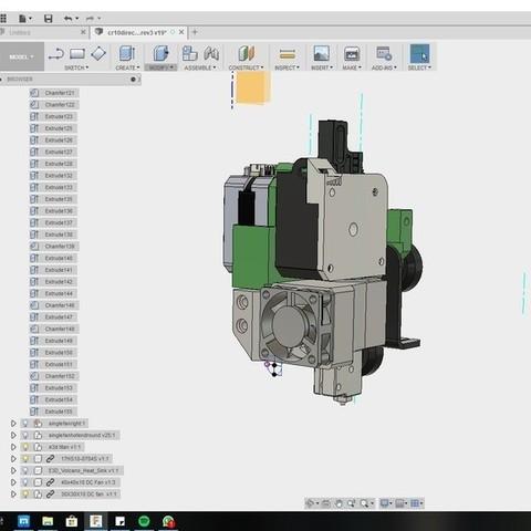 09a6adaa70314a03524a0ea8c10c3aa3_display_large.jpg Download free STL file CR10 direct heavy duty mod, titan + v5heatsink+volcano/ or / v6heatsink + pancake motor BETA • 3D print object, raffosan