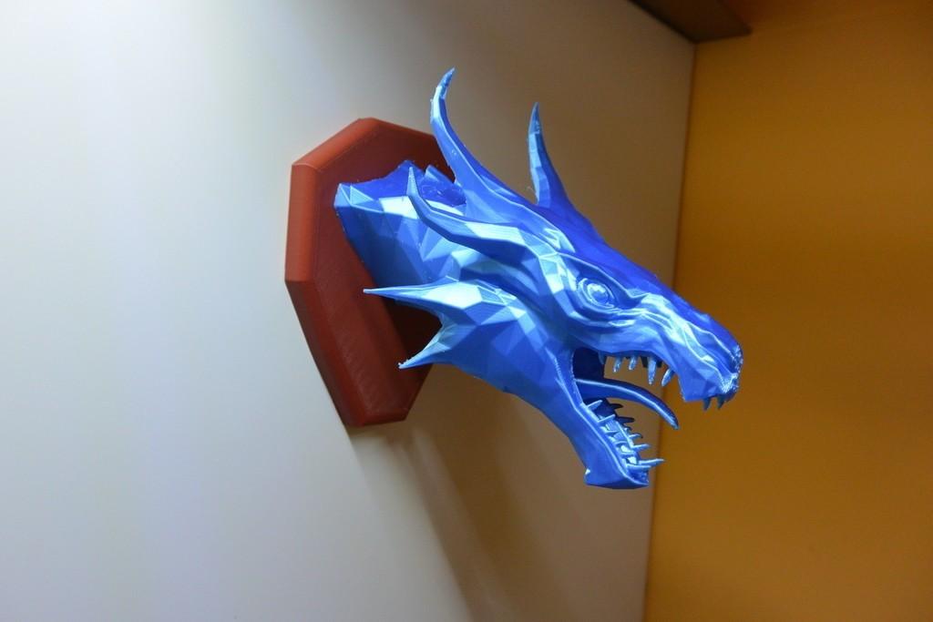 cdfd48c9371ee2e00665348fb9291b77_display_large.JPG Download free STL file Skyrim Swamp Dragon wall Trophy • 3D printable design, raffosan