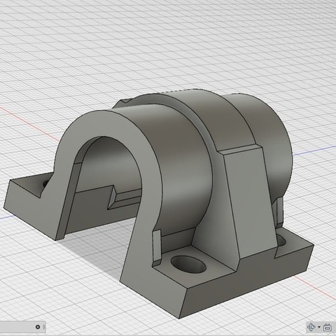 Download free 3D printing templates geeetech g2s lm10uu holder, raffosan