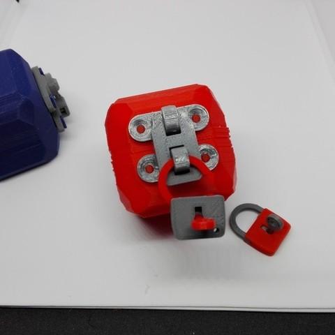 a03c53a88edf6f4c9de3b18c5d7bb54c_display_large.jpg Download free STL file minimal mini lock with working mechanism and key • Object to 3D print, raffosan