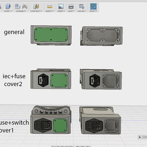 T l charger objet 3d gratuit couvercle modulaire pour bloc d 39 alimentation avec addons xt60 - Maison bloc modulaire ...
