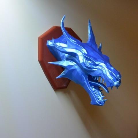 1b547871d938eefb0ed209617fd15696_display_large.JPG Download free STL file Skyrim Swamp Dragon wall Trophy • 3D printable design, raffosan