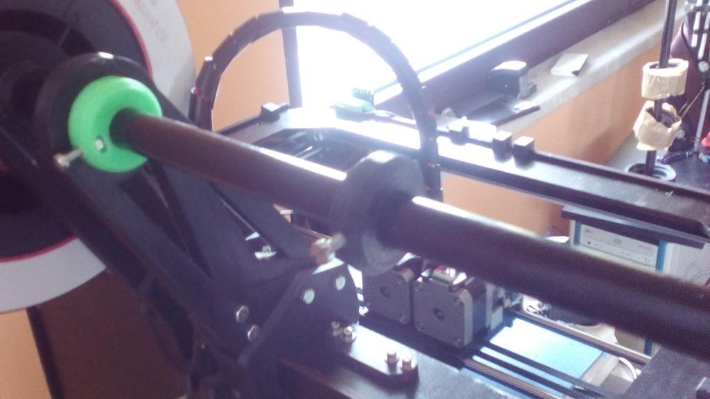 eccaa11d31e7f328a01f03583143c987_display_large.jpg Télécharger fichier STL gratuit Porte-bobine double-quad pour les modèles à coque CTC/flashforge/réplicateur WOOD. • Plan pour imprimante 3D, raffosan