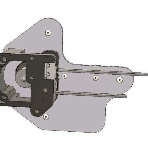 Download free 3D printer files creality CR10 ender 2 3 Xbelt align mod/fix, raffosan