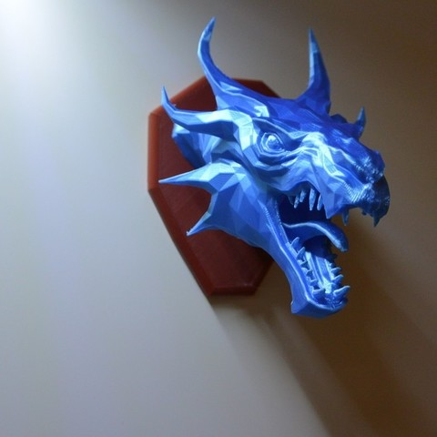 a8a2961c691f6fe527efbdc0aeeb5e92_display_large.JPG Download free STL file Skyrim Swamp Dragon wall Trophy • 3D printable design, raffosan