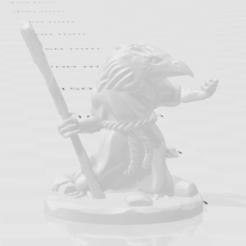 Cattura.PNG Télécharger fichier OBJ gratuit kenku miniature avec base pour imprimante FDM • Plan pour imprimante 3D, raffosan