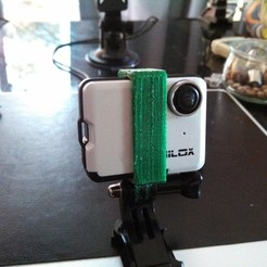 Download free 3D printing designs universal support for nilox mini action cam, raffosan
