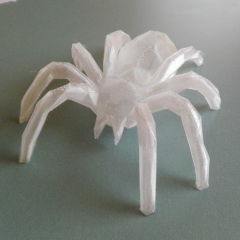 Download free 3D printing designs LOWPOLY spider, raffosan