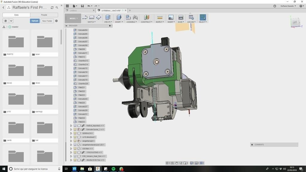 a7f1525d73d4a4d921b91213f81dbcee_display_large.jpg Download free STL file CR10 direct heavy duty mod, titan + v5heatsink+volcano/ or / v6heatsink + pancake motor BETA • 3D print object, raffosan
