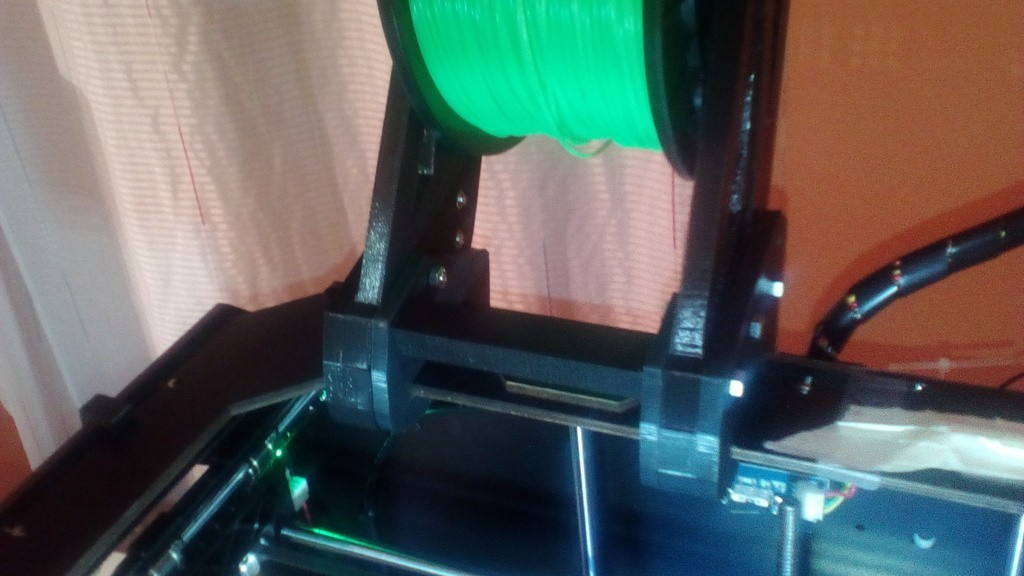 74b6e5cbf16b12d05f9b16d3ca277e8f_display_large.jpg Download free STL file heavy duty spool holder for CTC/flashforge/replicator WOODmodels , with screw lock • 3D printer model, raffosan