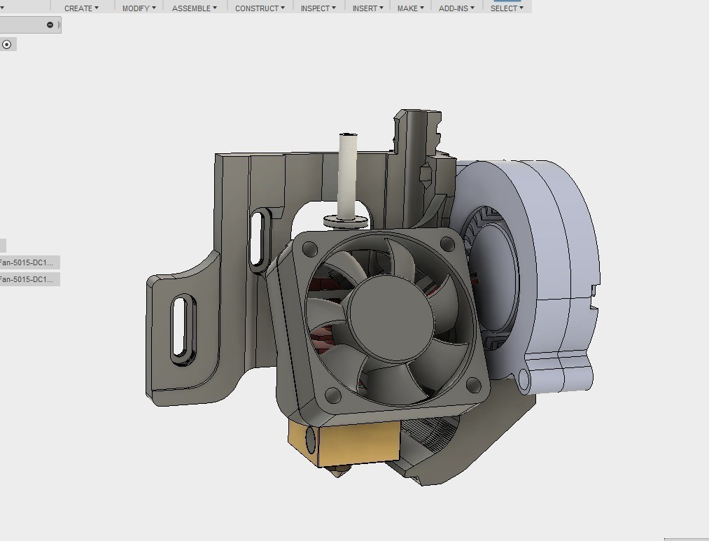 c5a2ca4aeb89f942ae8d0857bf54253a_display_large.jpg Download free STL file ULTIMATE creality cr10 ender 2-3 single blower LEFT RIGHT fan mount (stock hotend) EZABL • 3D print object, raffosan