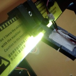Free STL file adjustable light from chinese tuning parts , for CTC or 5mmprinter walls, raffosan