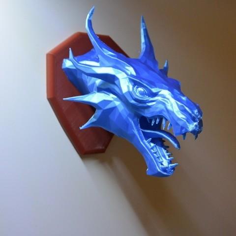 c13c63c93b7590b18cbbc8c10eeb4a79_display_large.JPG Download free STL file Skyrim Swamp Dragon wall Trophy • 3D printable design, raffosan