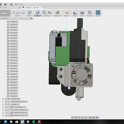 251fbbc9c62dbe95394fd900c57b5b90_display_large.jpg Download free STL file CR10 direct heavy duty mod, titan + v5heatsink+volcano/ or / v6heatsink + pancake motor BETA • 3D print object, raffosan