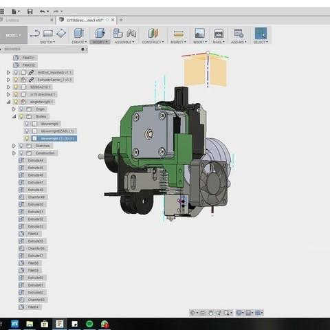 a707eadd5f043d6ad5acc90e7d55c153_display_large.jpg Download free STL file CR10 direct heavy duty mod, titan + v5heatsink+volcano/ or / v6heatsink + pancake motor BETA • 3D print object, raffosan