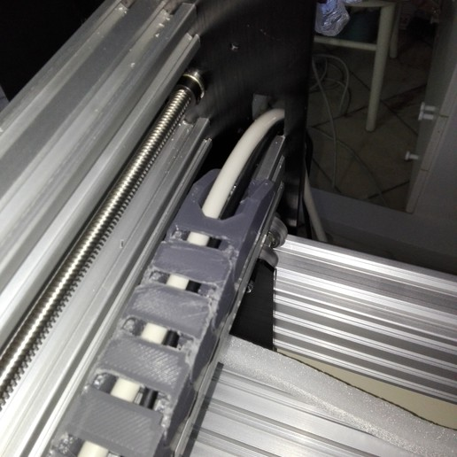 2020-01-06_13.06.45.jpg Télécharger fichier STL gratuit Chaîne d'entraînement 11x20 pour profilé à rainure de 20mm, axe X de l'abeille • Modèle pour imprimante 3D, raffosan