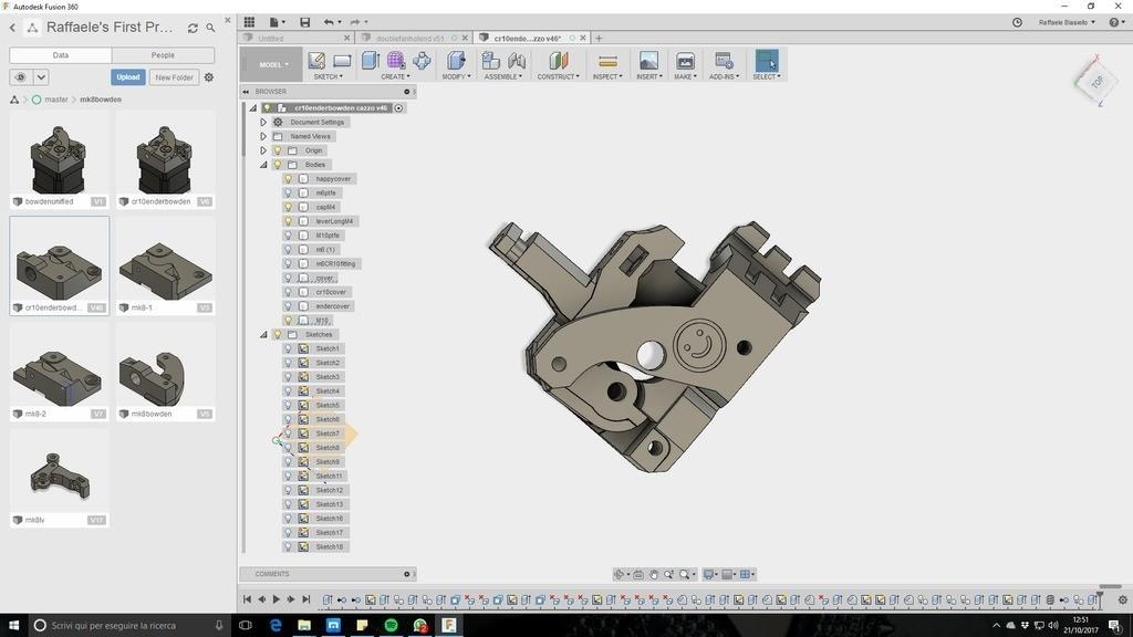 691fe3ea2ea8e663d5d773db29bd19eb_display_large.jpg Télécharger fichier STL gratuit Extrudeuse Ultimate creality cr10 (happy edition) (filaments flexibles) • Design à imprimer en 3D, raffosan