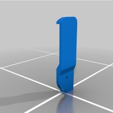 3.jpg Download free STL file Yaesu VX-6R Clip • 3D print template, MPoenya