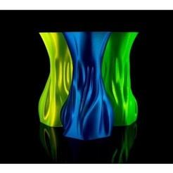 Free STL files Abstract Vase, zaky20