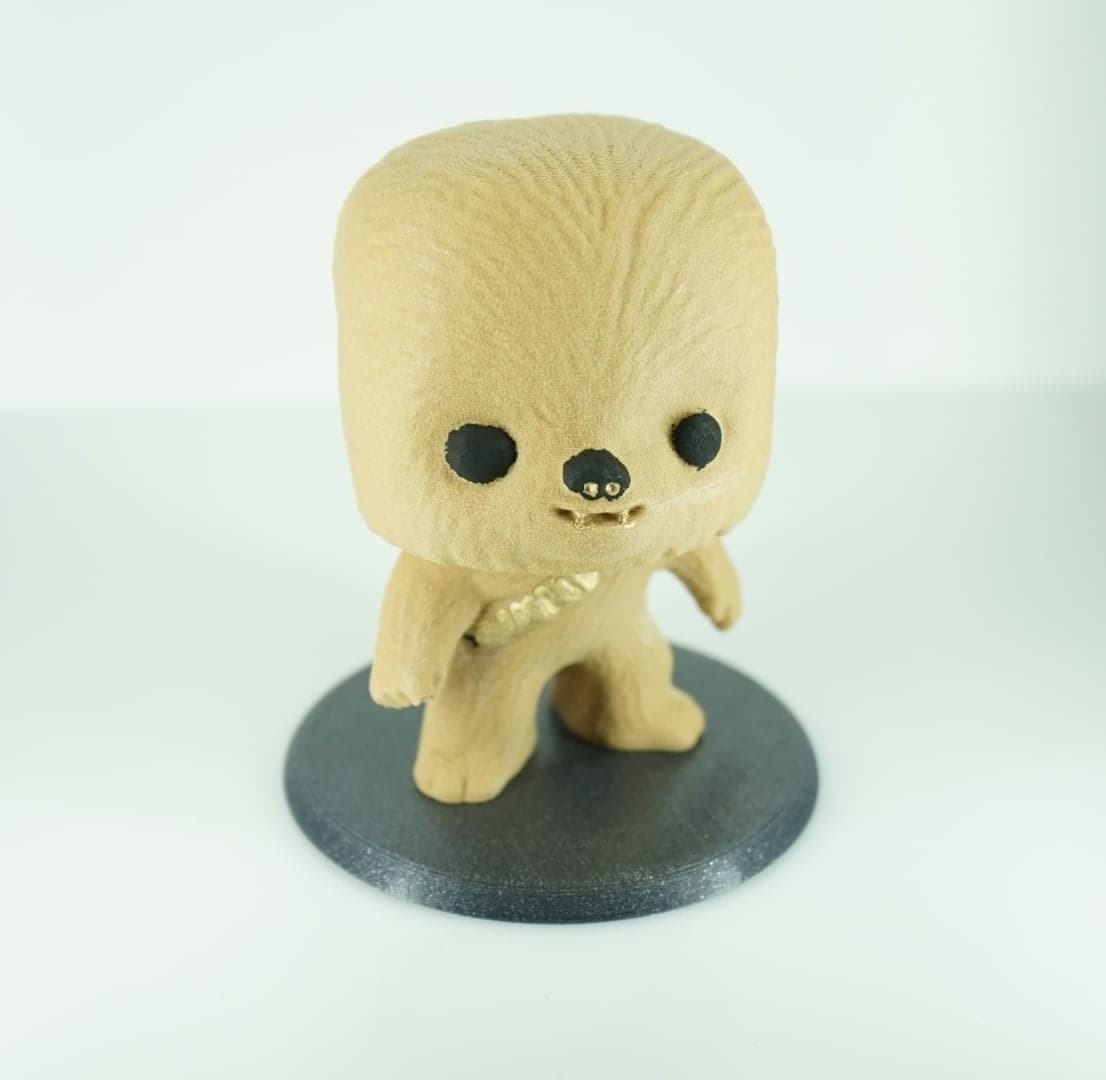 39810805_300632014077432_8704851982512291840_n.jpg Download free STL file Chewbacca BobbleHead TPU spring • 3D printing object, zaky20