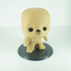 Download free 3D printer designs Chewbacca BobbleHead TPU spring, zaky20