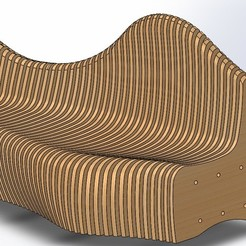 1.JPG Télécharger fichier STL Canapé paramétrique • Design imprimable en 3D, Eng_Am_Al