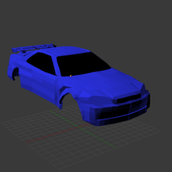 Download free 3D printing files Nissan Skyline R34 Design, Empeurare