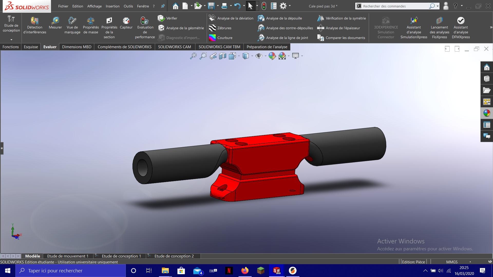 Capture d'écran (8).png Download free STL file Go-Kart Footrests • 3D print template, Empeurare