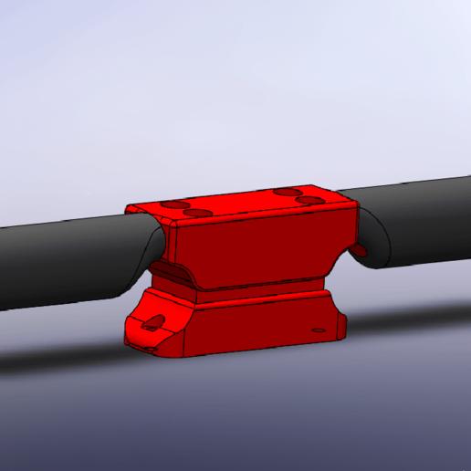 Capture d'écran (5).png Download free STL file Go-Kart Footrests • 3D print template, Empeurare