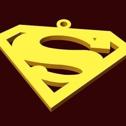 Free STL file superman pendant, fcosaldana0210