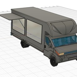 Download STL file Food Truck • 3D print design, Fricis