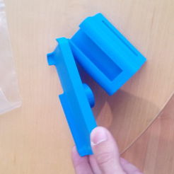 Download free 3D print files iphone 5 wrist mount, Fricis