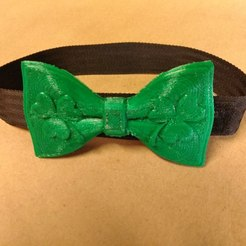 Download free 3D printing models St. Patric's Day's Bowtie, Fricis
