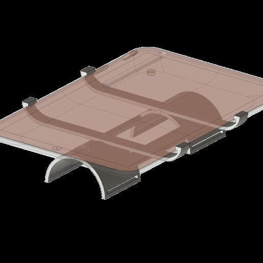 Download free 3D model iPad  wrist mount, Fricis