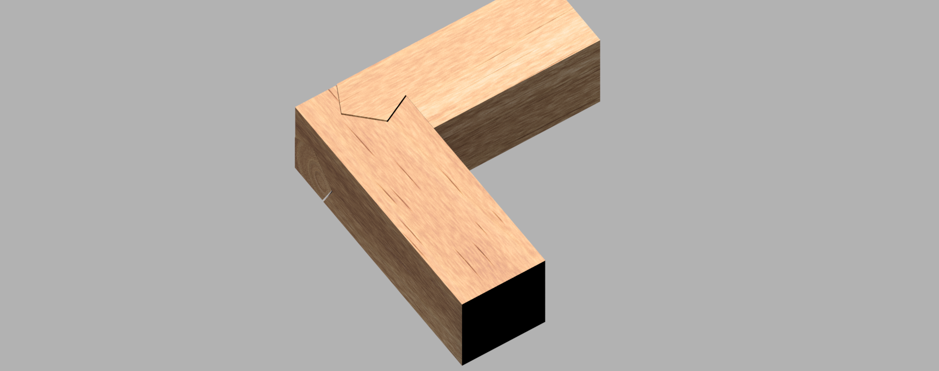 3way_joint_0.png Download free STL file 3way joint_(Kawai Tsugite) • 3D print template, Fricis