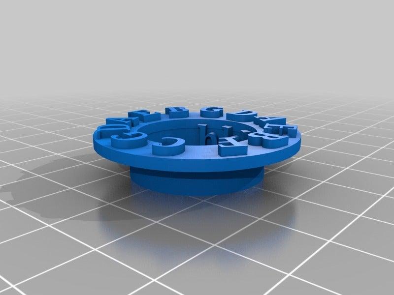 4623f816007f3b20e55ceec986fe26e7.png Télécharger fichier STL gratuit Tourniquet du Cercle des Cinquièmes • Objet pour impression 3D, cclontz