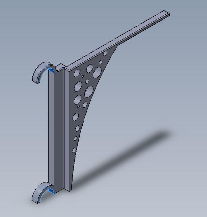 support linge.JPG Télécharger fichier STL gratuit Support sèche linge  • Plan imprimable en 3D, julienvd2525