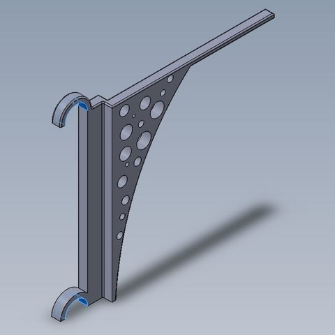 Free STL file Clothes dryer support, julienvd2525