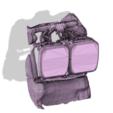 Download 3D printer templates Evolved Motorbike Headlight Bracket., heathtownsend15