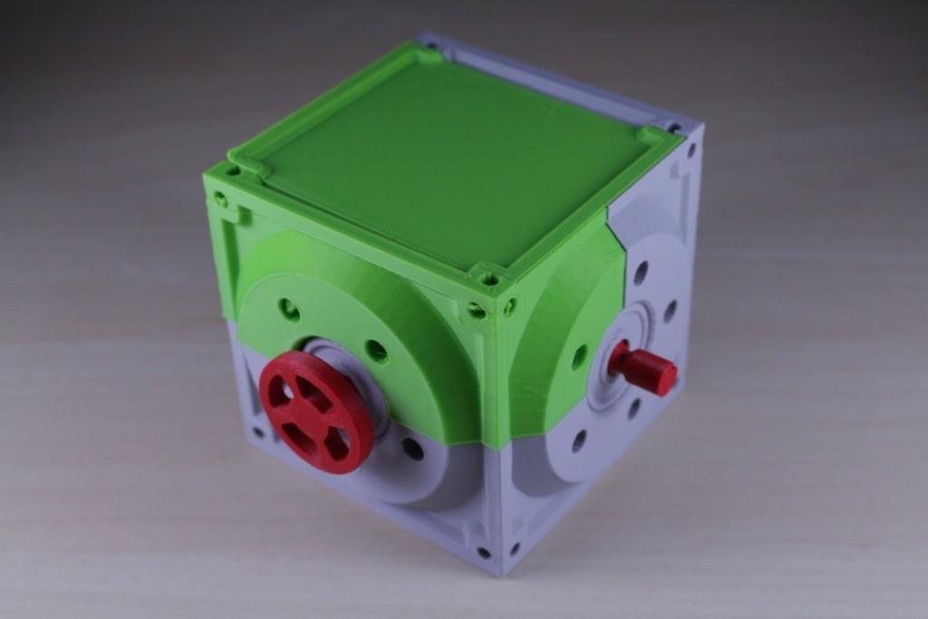 29d73a27cc3a73f94802684d0c200546_display_large.JPG Télécharger fichier STL gratuit Réducteur industriel à couple conique / Réducteur à engrenages (version en coupe) • Objet pour imprimante 3D, LarsRb