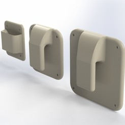 Download 3D printer files VESA Simple Mount, krzysiekkallas