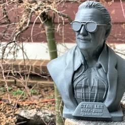 Impresiones 3D gratis Monumento a Stan Lee, handmadewithashley