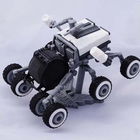Descargar archivos 3D gratis Scarab SRV Modelo Kit de Elite : Peligroso, retrorocketuk