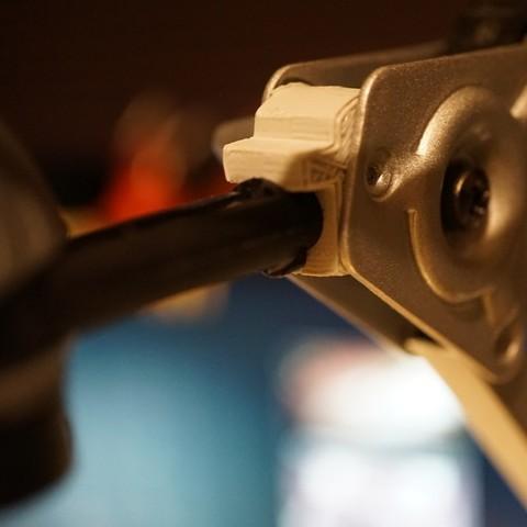 Download free 3D printer model Ikea Lamp Type A0401 Clamping Part, retrorocketuk