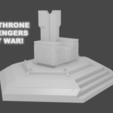3D printer models Basic Thanos Throne from Infinity War, awesome3dgeek