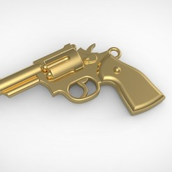 51 1.jpg Download STL file Pendand and Earring Revolver  • 3D printable object, RichardFlorencio