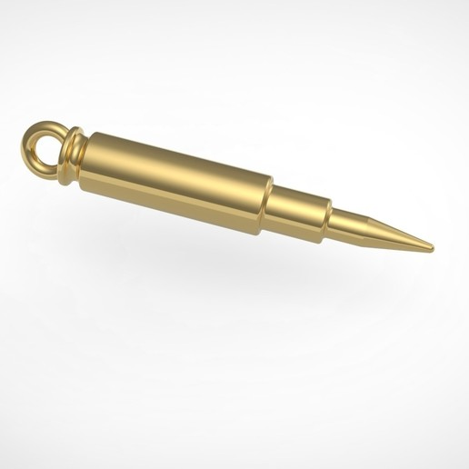 Télécharger fichier 3D gratuit Pendentif de balle de fusil, RichardFlorencio